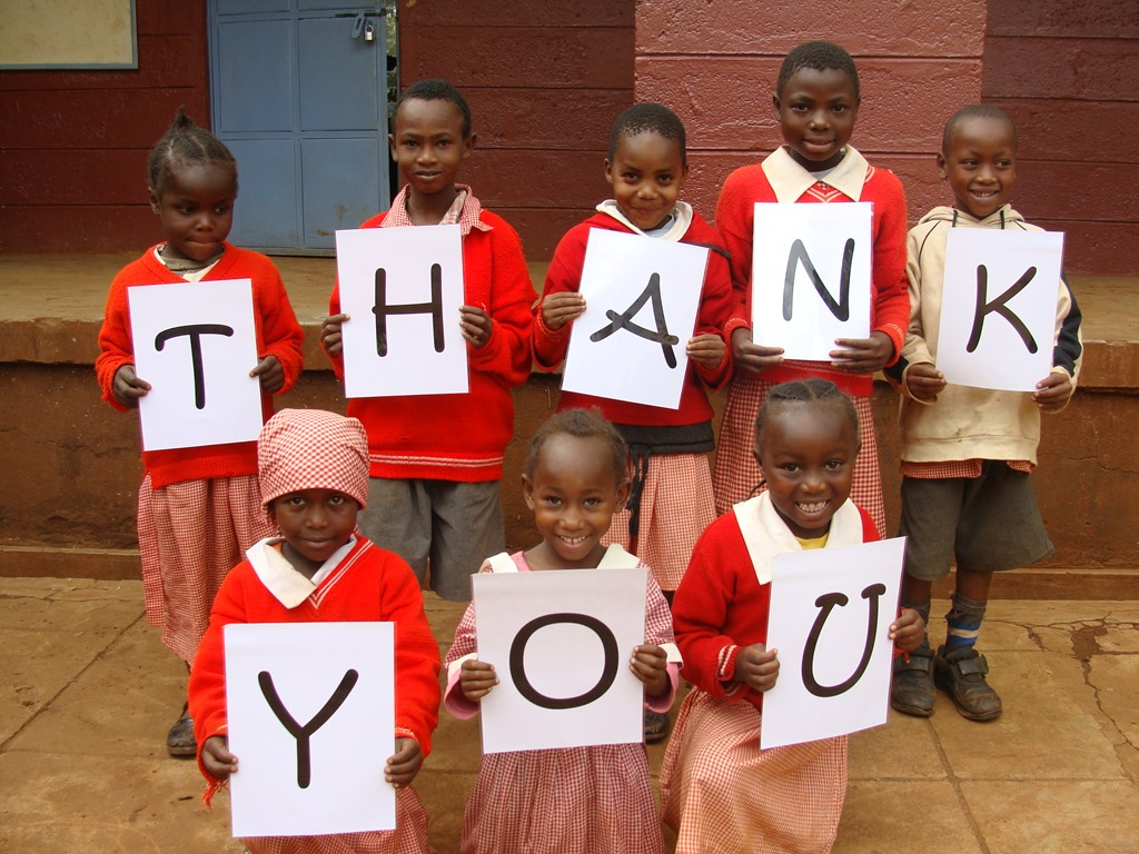Thank You all who see us through this journey of changing lives especially those of the poor orphans and kids